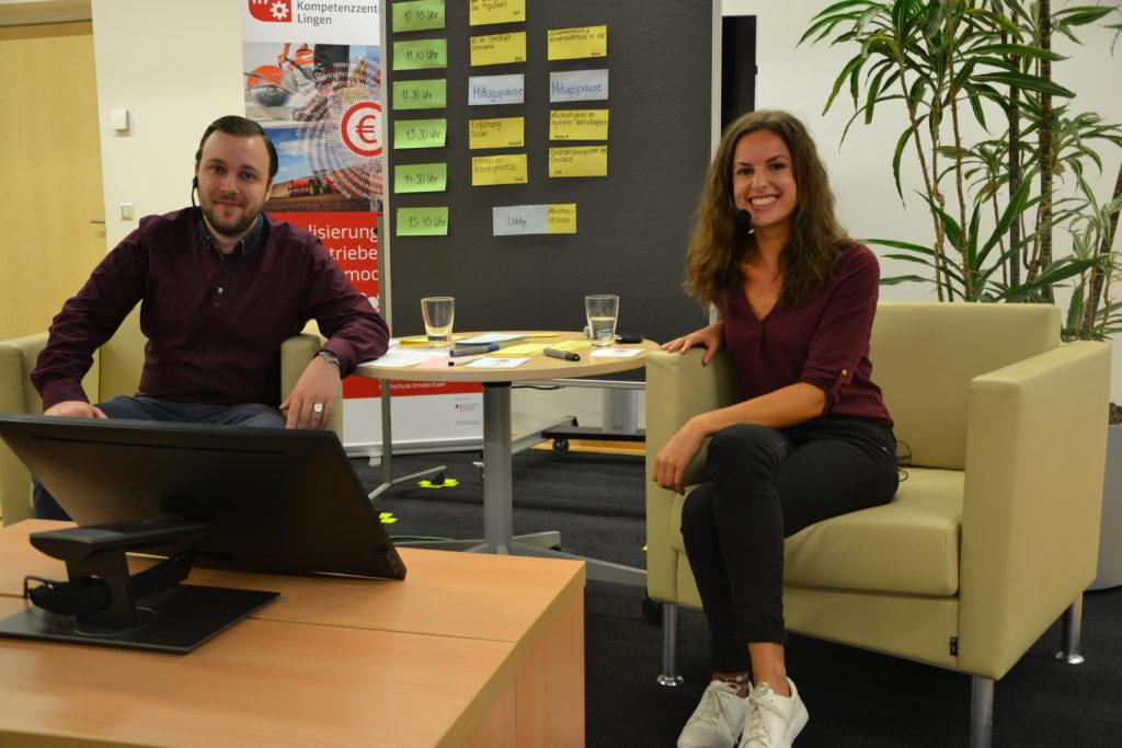Das Moderatoren-Team Sascha & Mareile